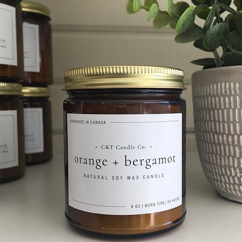 Orange & Bergamot candle