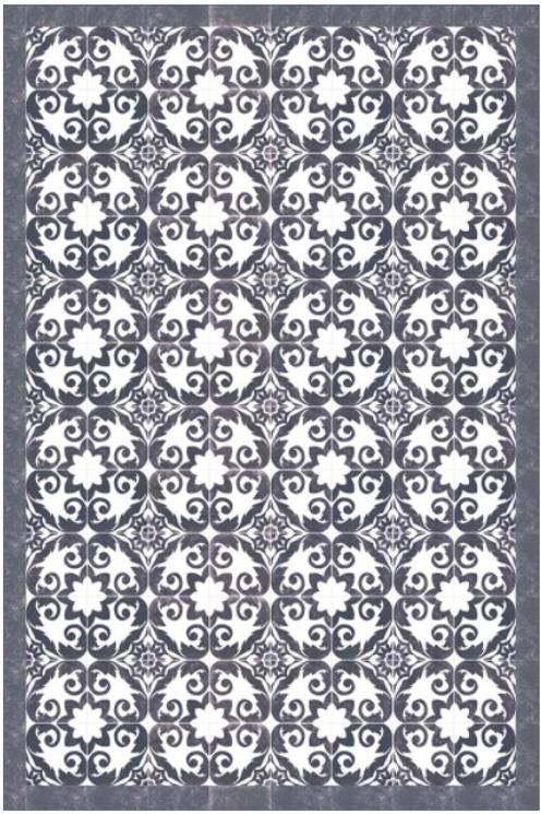 Vinyl floor mat 2'x3'    101-142