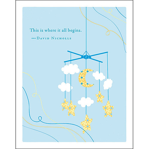 Baby card   #6366