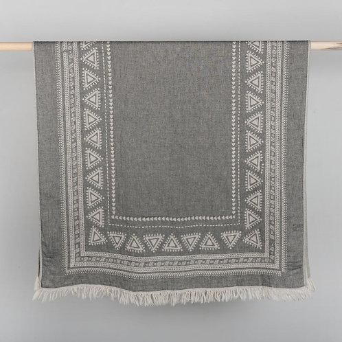 Turkish Towel - Devon - Black