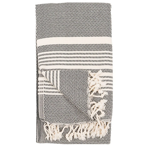 Turkish Towel - Hasir - Carbon