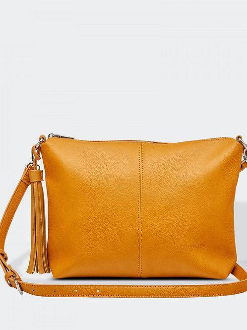 Daisy crossbody purse - Mustard