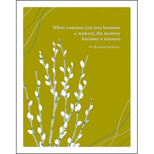 Sympathy Card  #7436