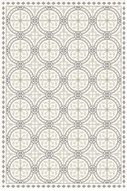 Vinyl floor mat 3.2'x4.8'