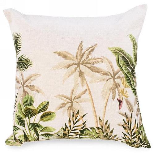 "Pillow - palm tree print  20""x20"""