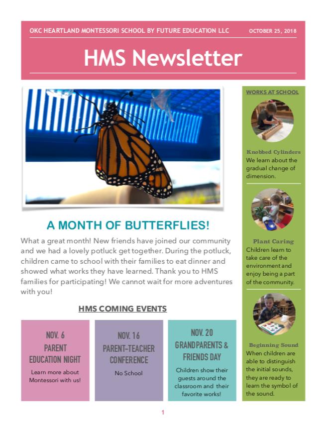 HMS Newsletter 201810