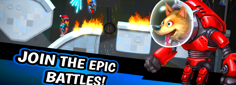 Join The Epic Battles