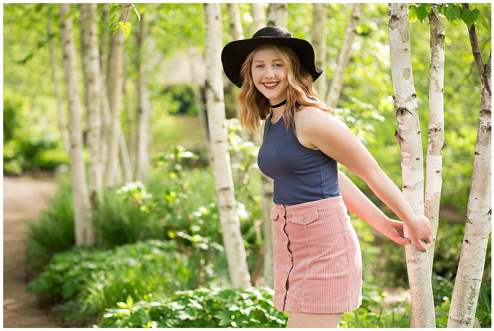 Portrait Photographers Madison Olbrich Gardens