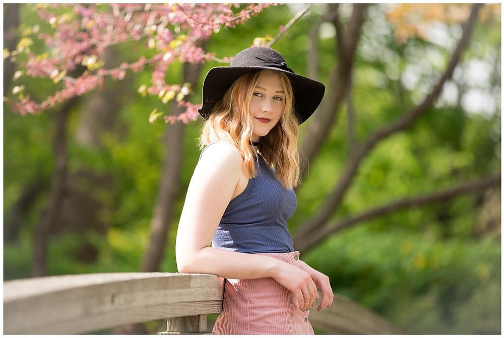 Senior Pictures Bridge Madison Olbrich