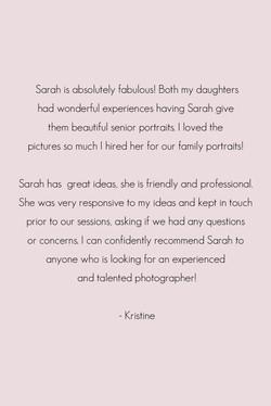 Photographer Reviews Madison