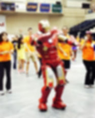 Spotted_ iron man doing the Macarena!.jp