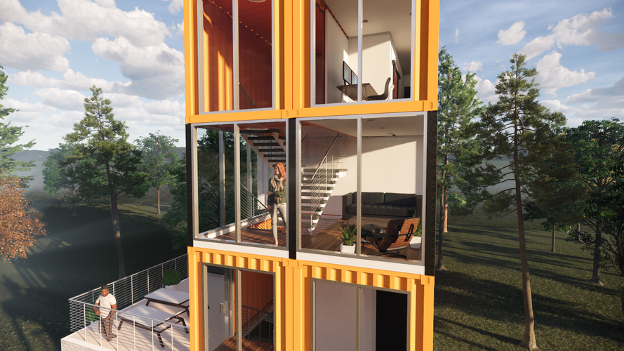 Container Town Home