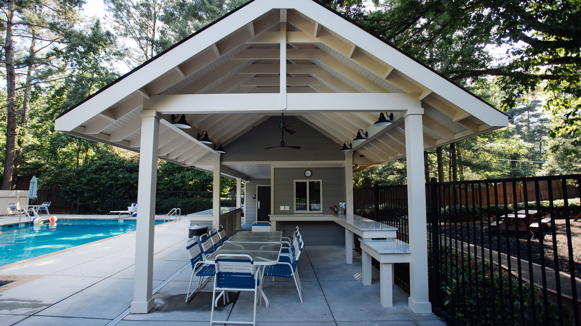 Haynes Forest Pool Pavilion