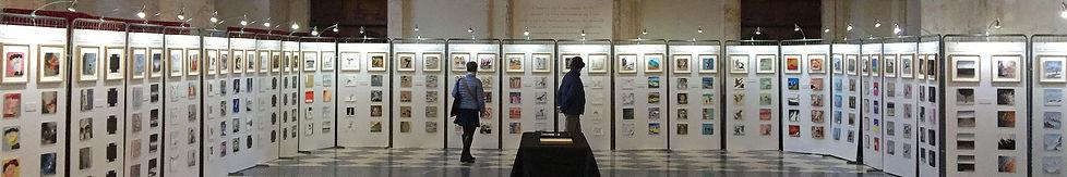 exposition Les 111 des Arts Lyon dans l'Atrium de l'Hôtel de Ville de Lyon