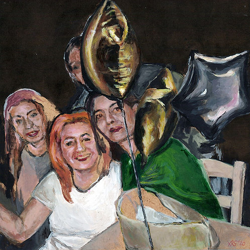 """CHRONOPOULOU-ROUX Stavroula - """"Girls'night out"""""""
