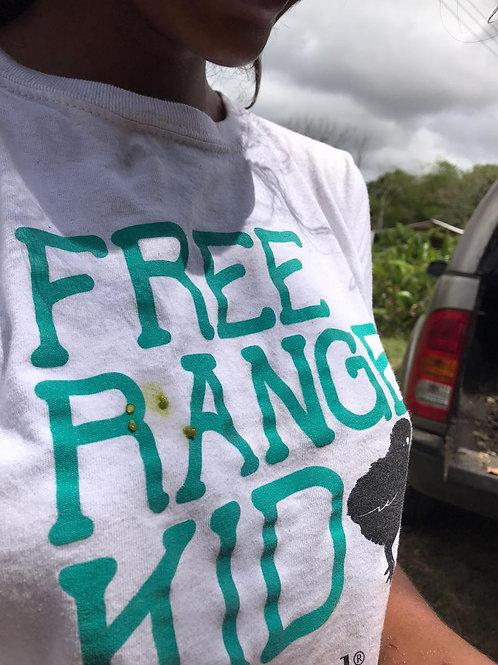 T-shirt: Free Range Kid