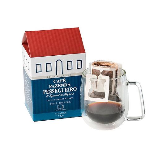 Café Fazenda Pessegueiro Drip Coffee 160 Unidades