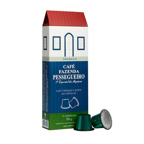 Café Fazenda Pessegueiro Orgânico em cápsulas - Pack 200 und