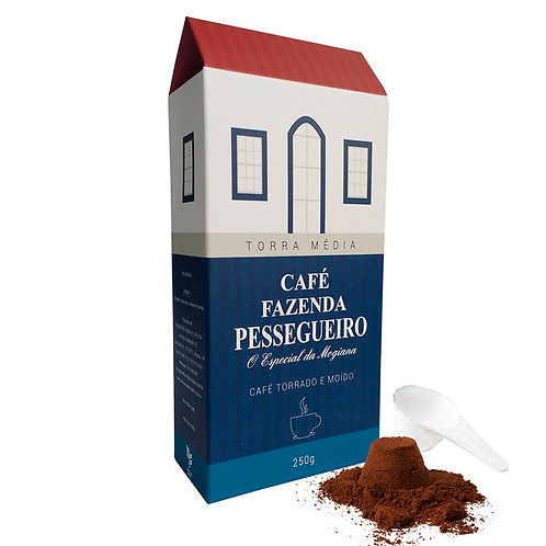 Café Fazenda Pessegueiro 250 G - Pack de 5 KG