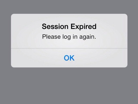 What to do if Facebook is logging out with a session expired  error message?