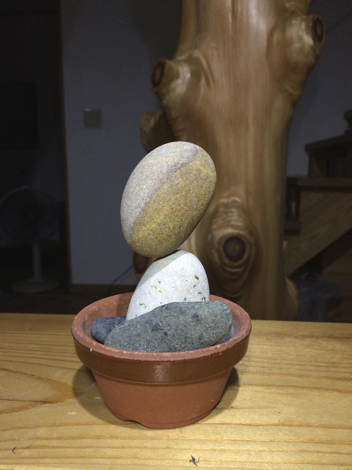 丸石は楽しい