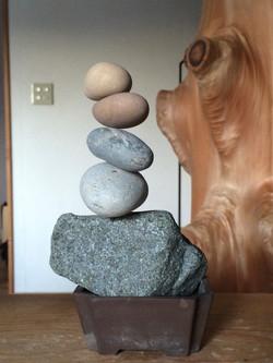 ツルツルな石が止まるとき