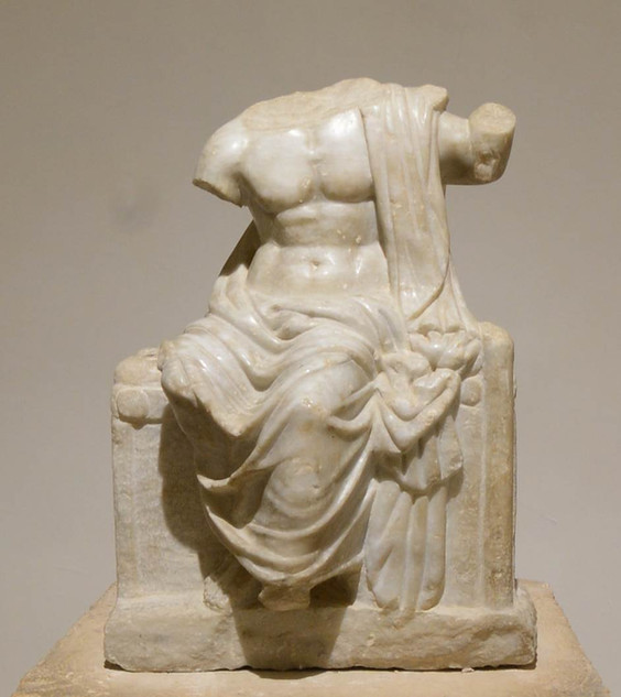 Sculpture of Zeus Nikephoros