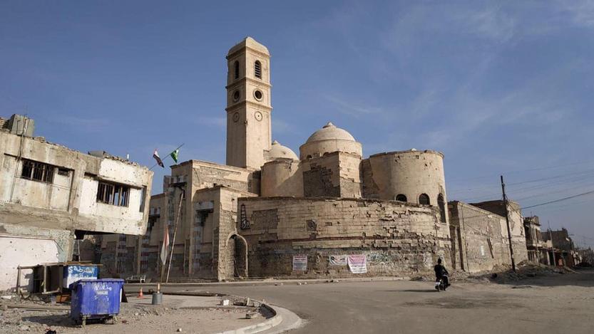 The Khazraj area, Mosul