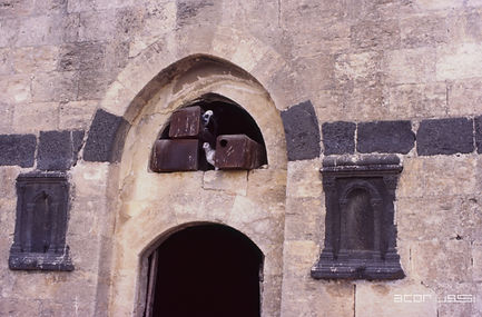 (C) ACOR: Decorative reuse of ancient carved stonework