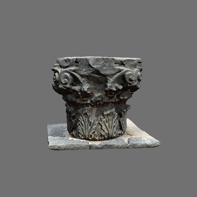 Basalt Corinthian Capital