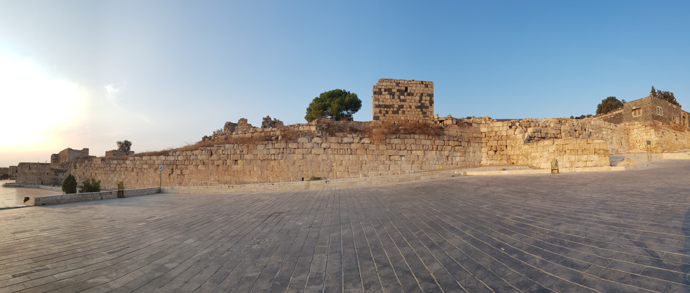 South east section of city walls