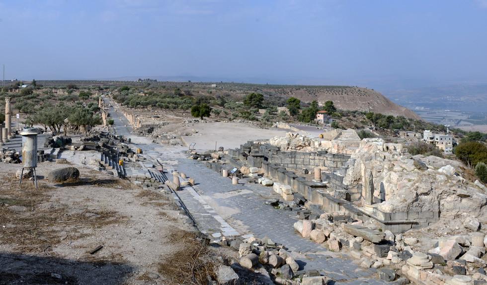 Decumanus Maximus and Nymphaeum
