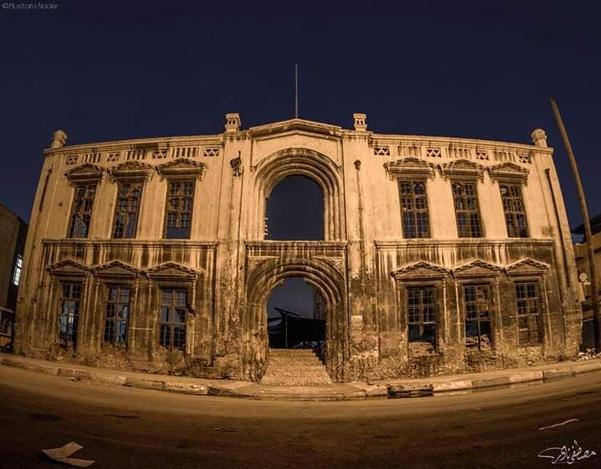 Baghdad Brigade building