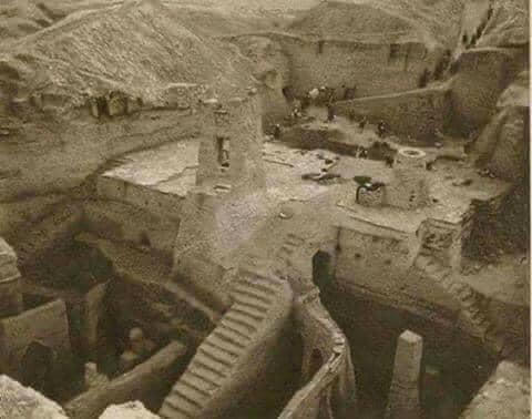Excavation of the ruins of Nippur, 1893