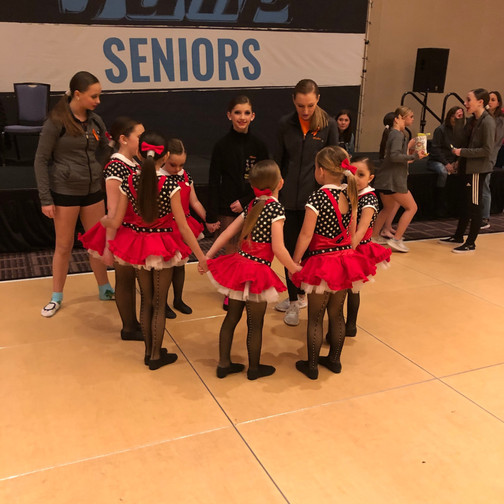 Our sweet mini dancers