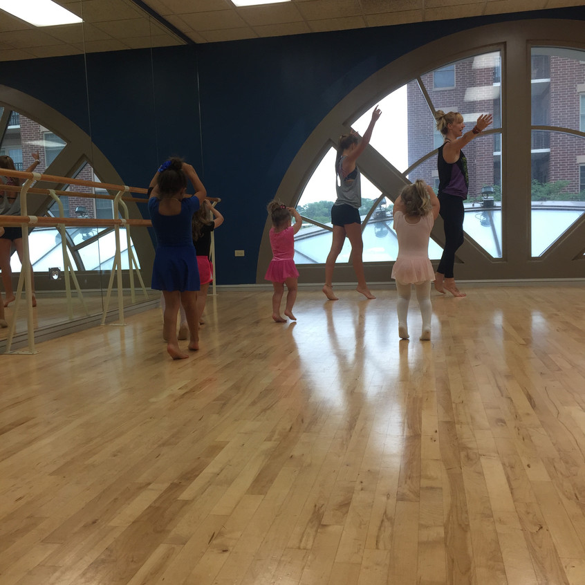 Ballet walks in a circle