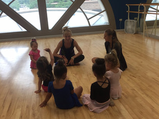 The Benefits of a Creative Movement Class: Artistry's Little Artists Classes
