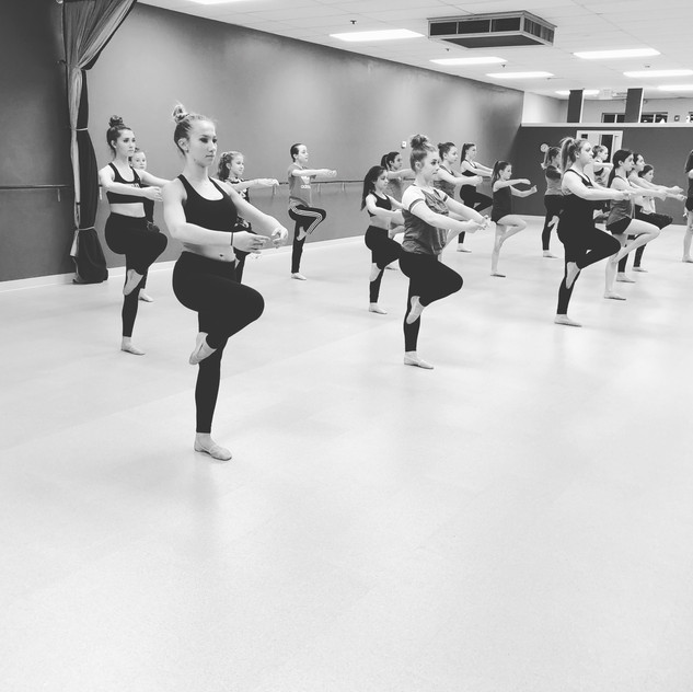 Dance room in action