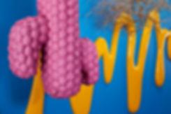 Golden Swirl + Pink Cactus