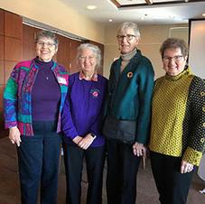 2020 Board members: Elizabeth Olson, Mary Jones, Sharon Detert, Lorraine Roving, Donna Jackson (not pictured)