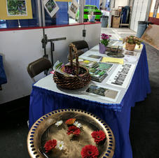 Home and Garden Show Garden Club Table