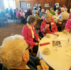 Sixty People in Attendance at our February 14 Luncheon at St. Olaf.