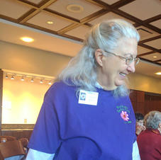Lorraine Rovig, the 2017 Garden Club President, Welcomed Participants at the February 14 Luncheon
