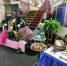 Garden Club Decorations for  Home & Garden Show