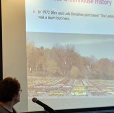 Donahue Greenhouse History