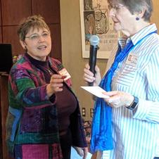 Erika Tallman $500 Grant Awardee to Refurbish the Pergola at Riverside Park