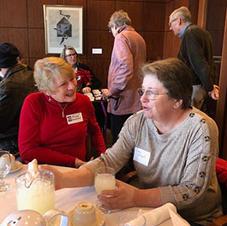Joan Koester & guest Deb Knecht