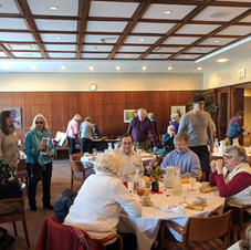 February 2019 Luncheon; 49 people Attended