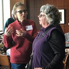 Linda Blankenberger & Deb Bauer, members