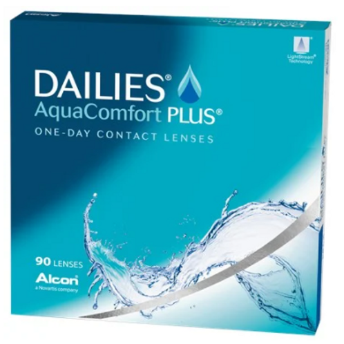 Dailies AquaComfort 90 pk